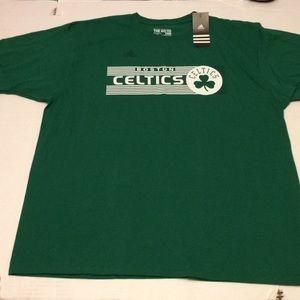 Adidas Boston Celtics The Go-To Tee Men's Size 2X